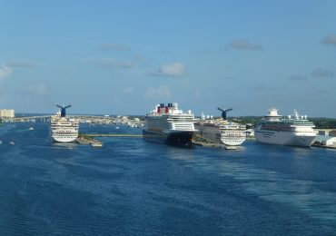 Cruise ships at Nassau, Bahamas