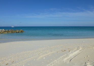 The beach at Princess Cays
